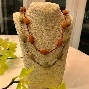 🔥⚡️BOGO SALE⚡️🔥 Sigrid Olsen 2 necklaces silk